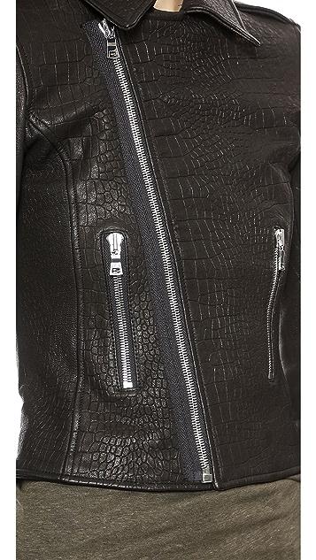 RtA Leather Biker Jacket