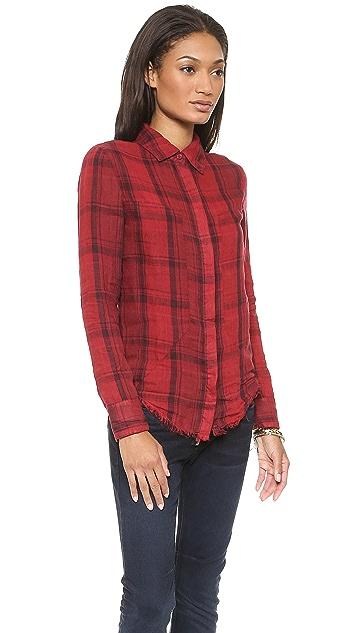 RtA Frayed Industrial Shirt