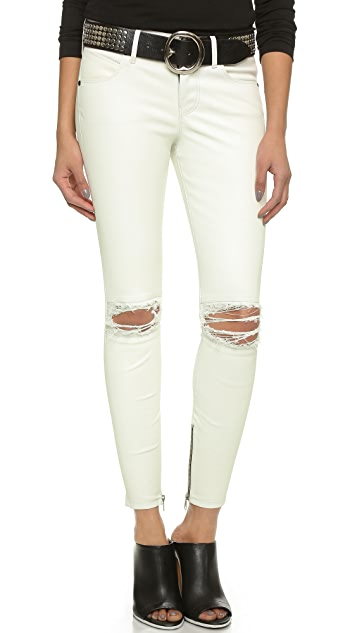 RtA Dylan Leather Jeans