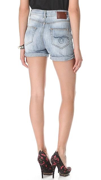 R13 Slouchy Cutoff Shorts
