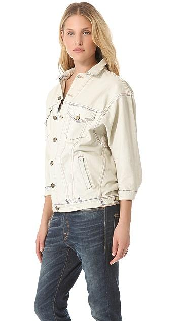 R13 Oversized Jean Jacket