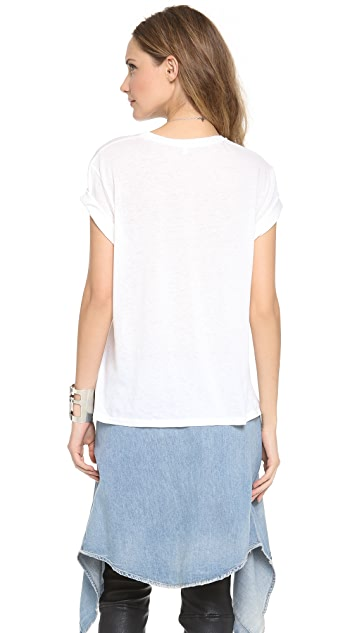R13 Distressed Graphic Boy Tee