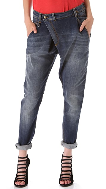 R13 Crossover Jeans