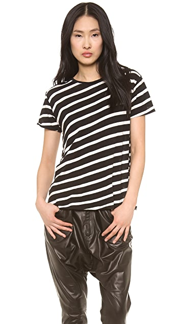 R13 Boy T Shirt with Stripes