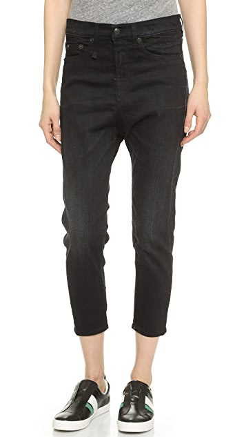 R13 The Drop Ankle Jeans