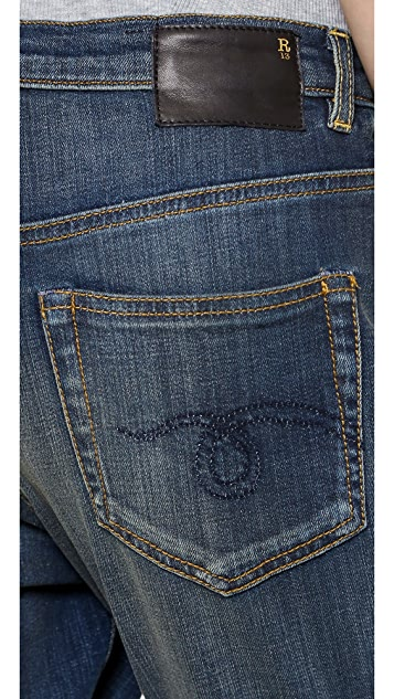 R13 X Over Jeans