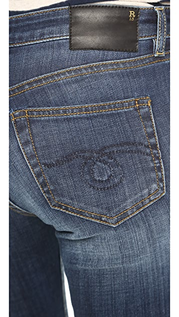 R13 The Principle Mid Rise Skinny Jeans