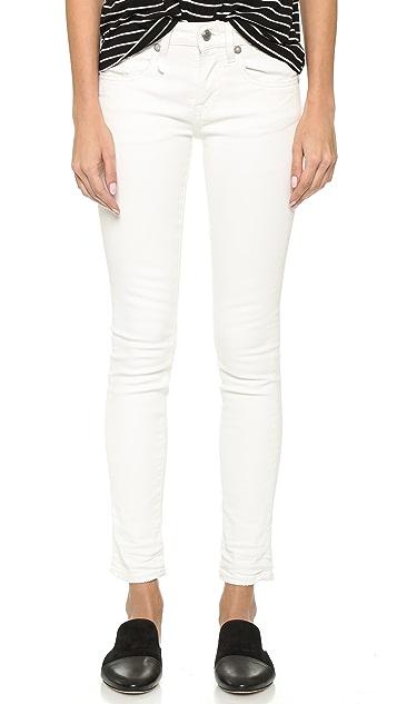 R13 Alison Crop Skinny Jeans