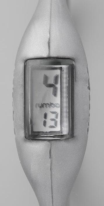 RumbaTime Silver Rumba Watch