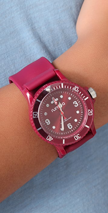 RumbaTime Bordeaux Perry Slap Watch