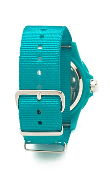 RumbaTime Electric Wave Perry Nylon Watch