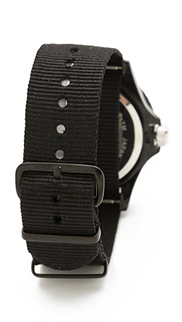 RumbaTime Lights Out Perry Nylon Watch