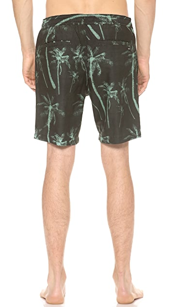 RVCA Hairy Palms Hybrid Shorts