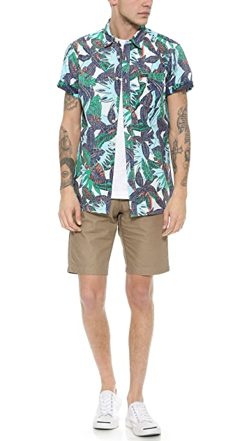 RVCA Jungle Leaves Shirt