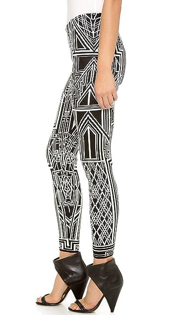 RVN Tron Flat Jacquard Pants