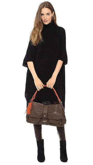 Rachel White Vintage Lanvin Shoulder Bag