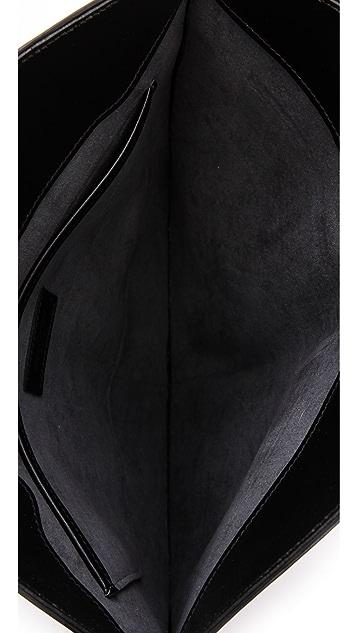 Rachel White Vintage Louis Vuitton Epi Noctombule Clutch