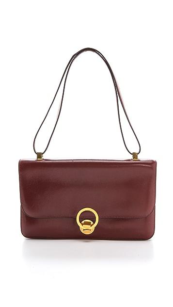 dcfe65e6d23 Rachel White Vintage Hermes Box Calf Loop Bag   SHOPBOP