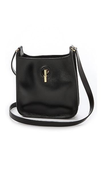 Rachel White Vintage Hermes Mini Box Vespa Bag