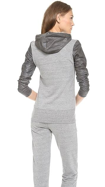 MODERNSAINTS Hoodie with Coated Sleeves