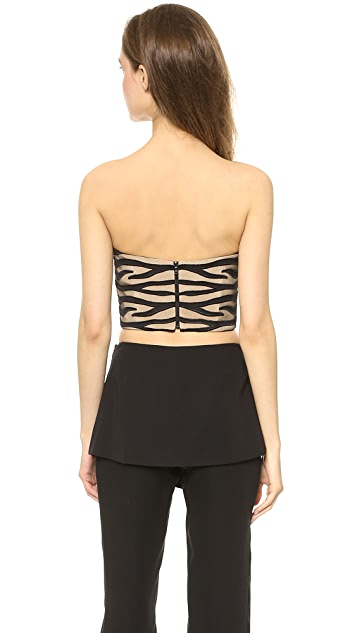 Sally LaPointe Strapless Bustier