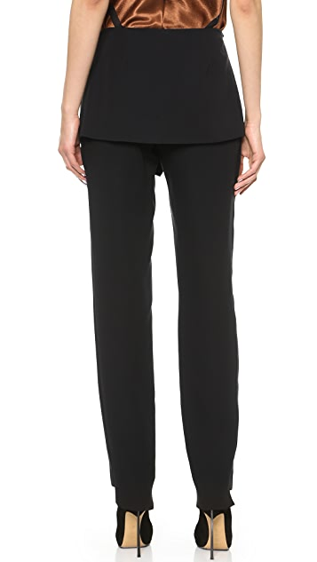 Sally LaPointe Front Flap Pants