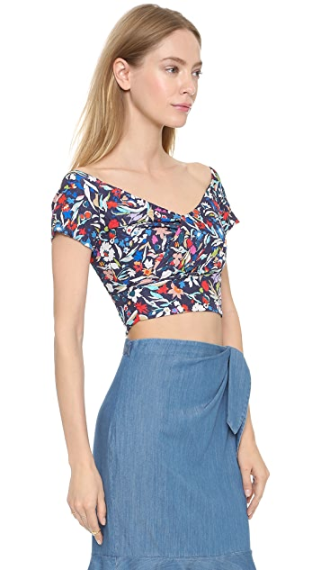 Saloni Karolina Off the Shoulder Top