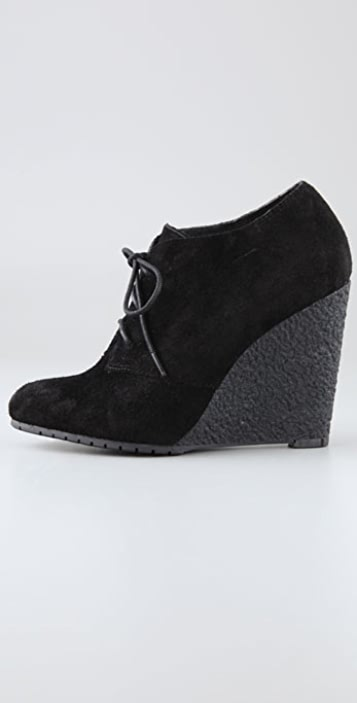 Sam Edelman Effie Suede Wedge Booties