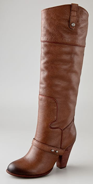 Sam Edelman Naharra Piped High Heel Boots