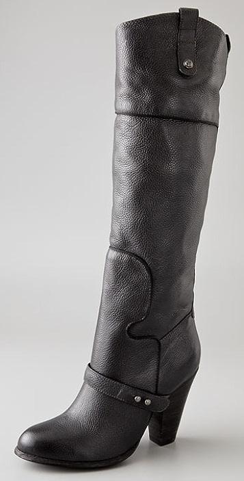 Sam Edelman Naharra Piped High Heel Boots