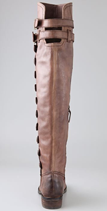 Sam Edelman Pierce Over the Knee Button Boots