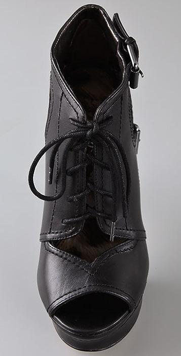Sam Edelman Jagger Lace Up Platform Booties