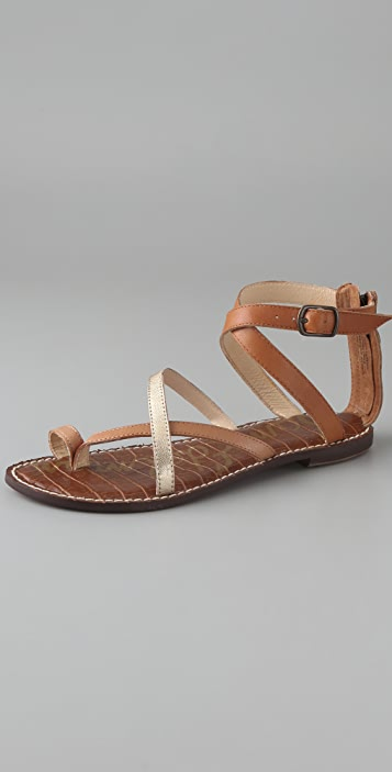 Sam Edelman Garner Toe Ring Flat Sandals Shopbop