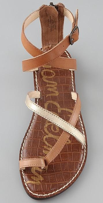 Sam Edelman Garner Toe Ring Flat Sandals