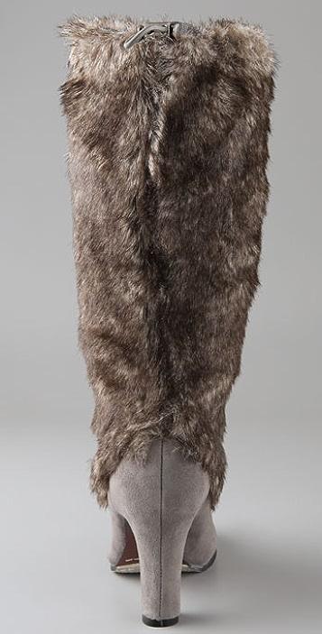 Sam Edelman Shalin Faux Fur Boots