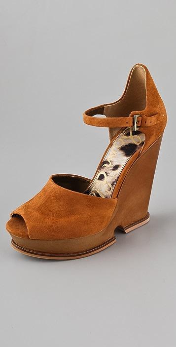 f681cc6a4cf4 Sam Edelman Javi Cutout Wedge Sandals