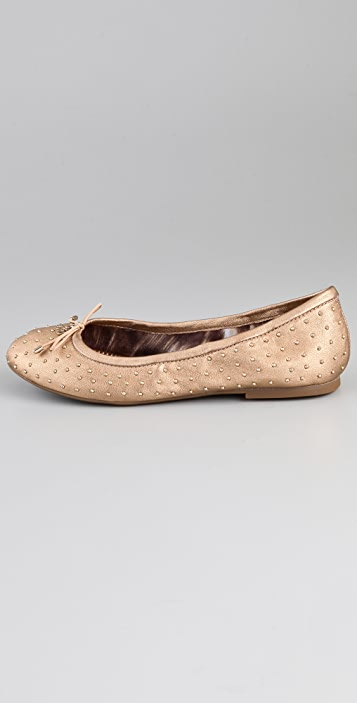 Sam Edelman Frankie Metallic Ballet Flats