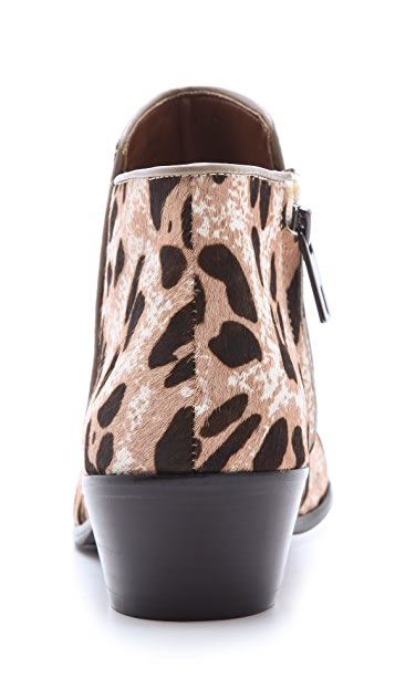 Sam Edelman Petty Snow Leopard Booties