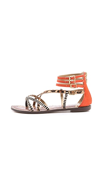 Sam Edelman Gable Strappy Flat Sandals
