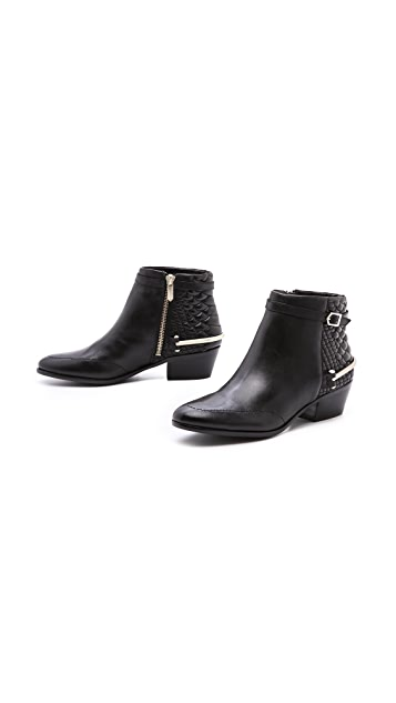Sam Edelman Porter Zip Side Booties