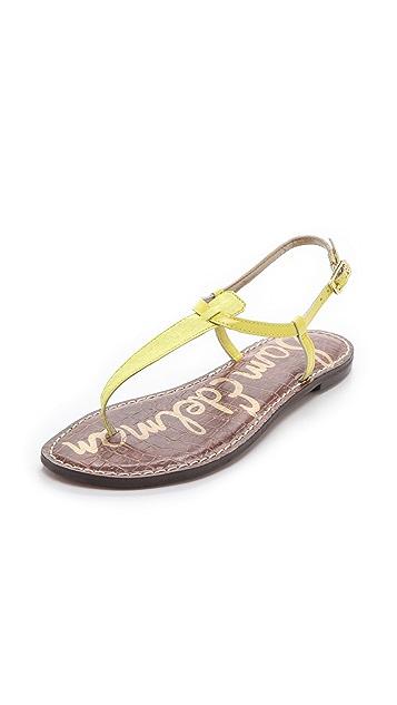 1d25ba1f161a Sam Edelman Gigi T Strap Sandals