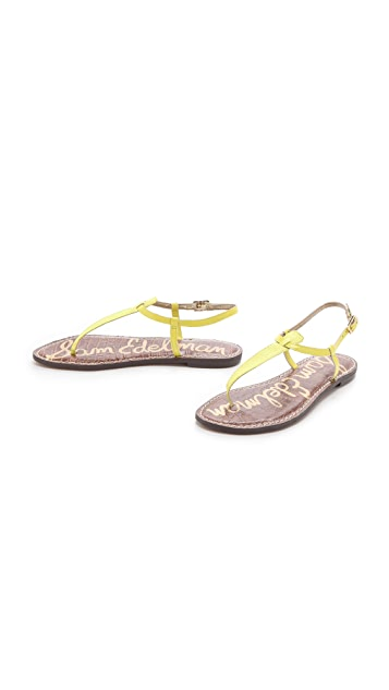 Sam Edelman Gigi T Strap Sandals