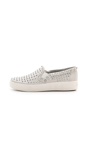 Sam Edelman Braxton Studded Slip On Sneakers