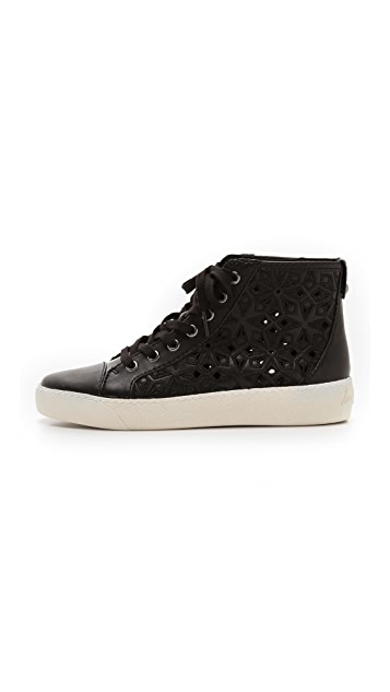 Sam Edelman Branson Perforated Sneakers