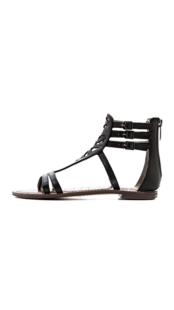 Sam Edelman Georgia Cutout Flat Sandals