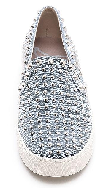 Sam Edelman Braxton Studded Slip On Sneakers