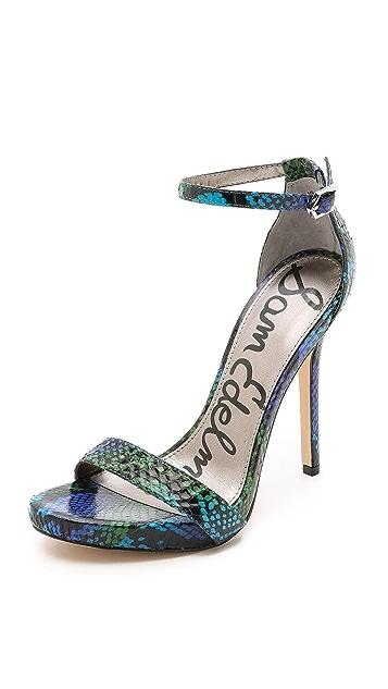 3b4384786673 Sam Edelman Eleanor Ankle Strap Sandals
