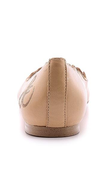 Sam Edelman Augusta Scalloped Ballet Flats