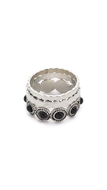 Sam Edelman Наборные кольца с камнями