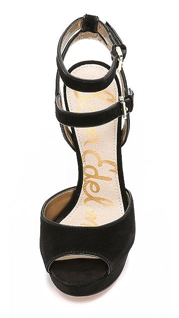 50034189671 ... Sam Edelman Nadine Suede Platform Sandals ...